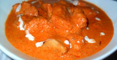 Butter Chicken, Linuskitchen, Linu Freddy