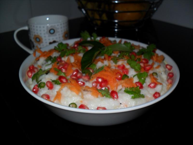 Curd Rice, Linuskitchen, Linu Freddy