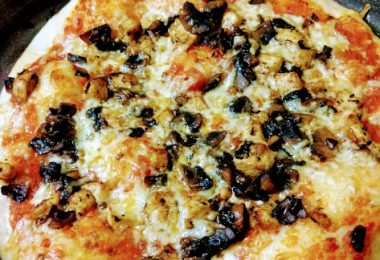 pizza, Linu Freddy, Linuskitchen