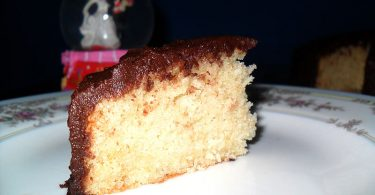 Vanilla Cake, Linuskitchen, Linu Freddy