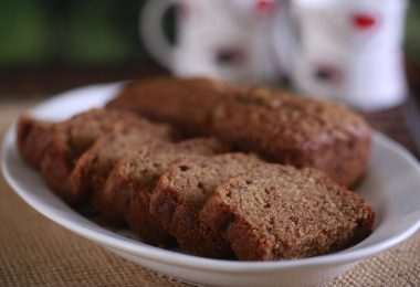Eggless Wheat Flour Cake, Linu Freddy, Linuskitchen.com