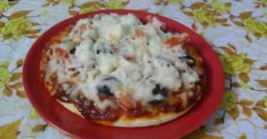 Chicken Pizza, Linuskitchen, Linu Freddy