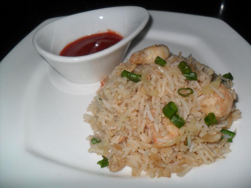 Prawns Fried Rice, Linuskitchen, Linu Freddy