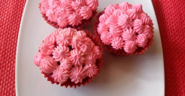 Red Velvet Cupcake, Linuskitchen, Linu Freddy