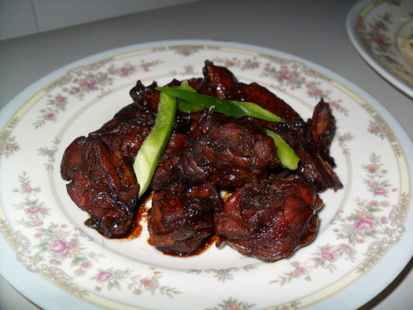 Soya Sauce Chicken, Linu Freddy, Linuskitchen