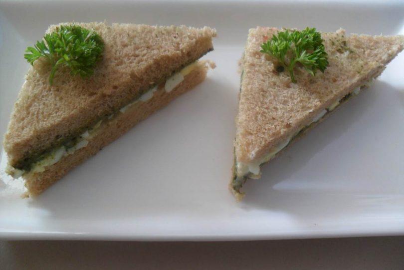 Egg Sandwich, Linu Freddy, Linuskitchen