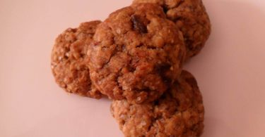 Oats Dates Raisin Cookies, Linuskitchen, Linu Freddy