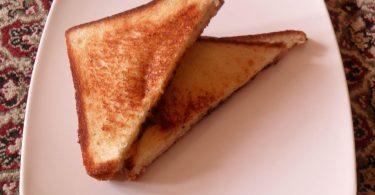 Grilled Cheese Sandwich, Linu Freddy, Linuskitchen