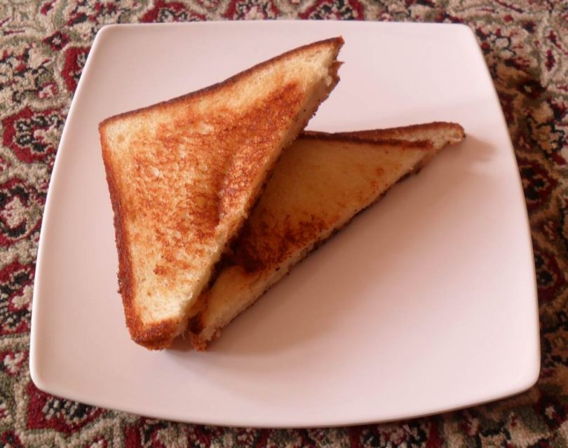 Grilled Cheese Sandwich, Linu Freddy, Linuskitchen
