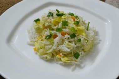 Egg Fried Rice, Linu Freddy, Linukitchen.com