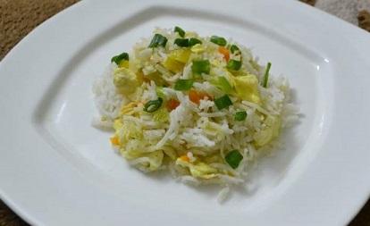Egg Fried Rice, Linu Freddy, Linukitchen.com