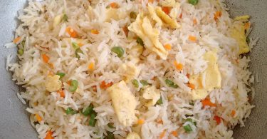 Egg Fried Rice, Linuskitchen, Linu Freddy
