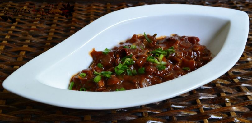Stir fried Szechuan Mushroom, Linu Freddy, Linuskitchen.com